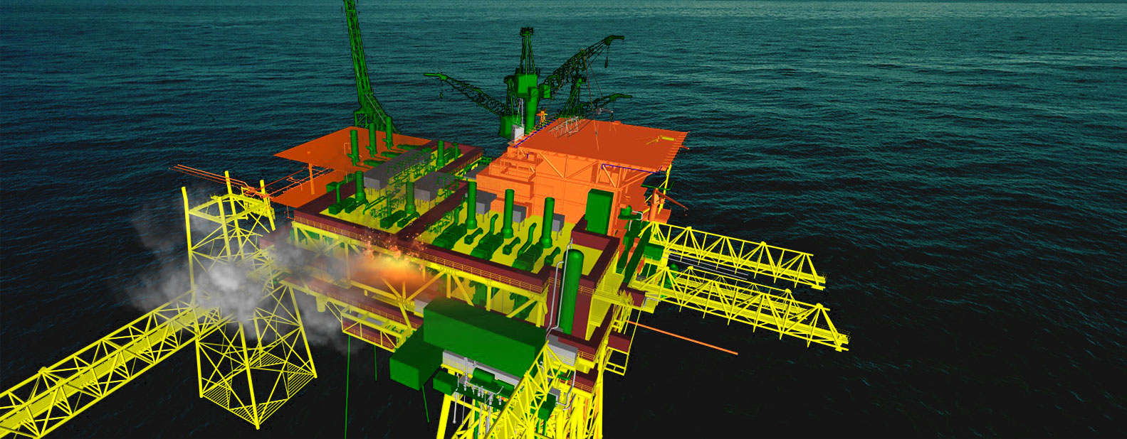 OFFSHORE FACILITIES_CFD MODELING_EXPLOSION ANALYSIS_SAFE DISTANCES